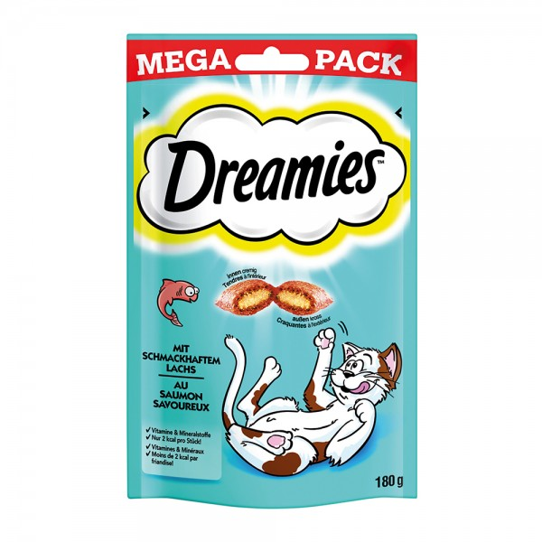 Dreamies mit Lachs