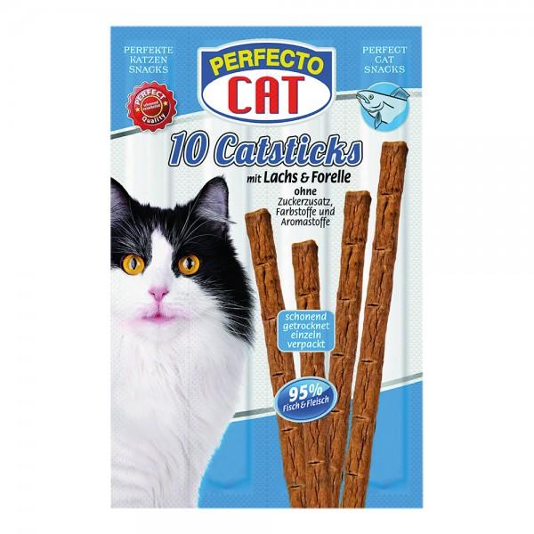 Perfecto Cat Katzensticks Lachs & Forelle