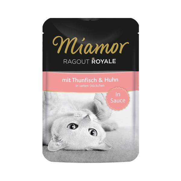 Miamor Ragout Royale in Sauce Thunfisch & Huhn