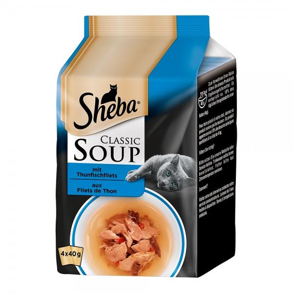 Sheba Classic Soup MP mit Thunfischfilets