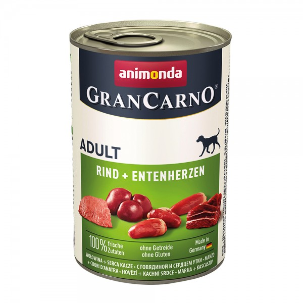 Animonda Gran Carno Original Adult Rind + Entenherzen