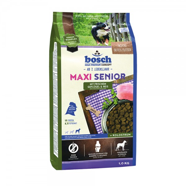 Bosch Maxi Senior Geflügel & Reis
