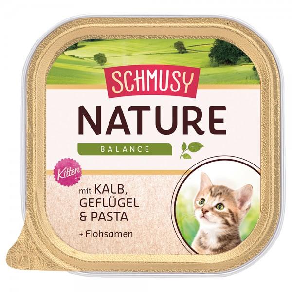 Schmusy Nature Kitten - Kalb & Geflügel