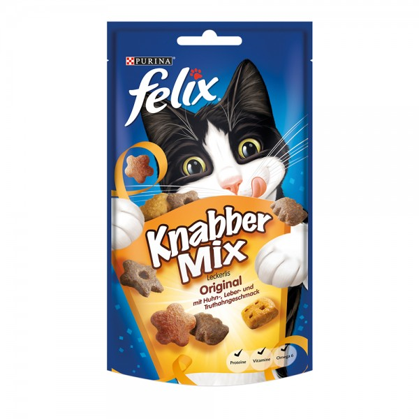Felix KnabberMix Original mit Huhn-, Leber- und Truthahngeschmack