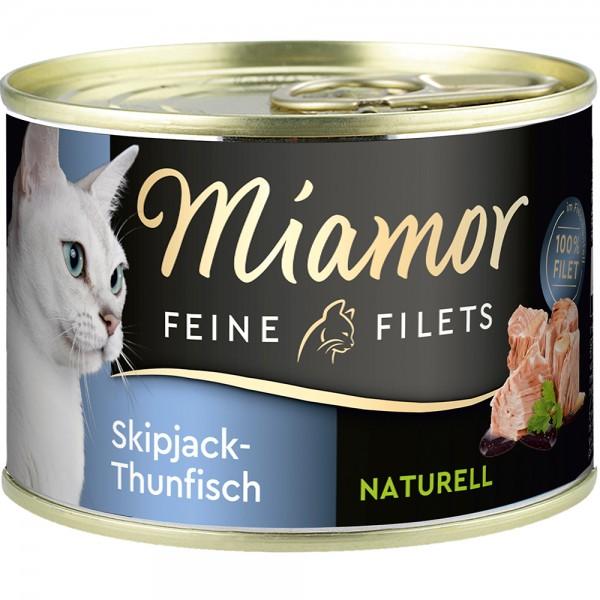 Miamor Feine Filets Natur Skipack-Thunfisch