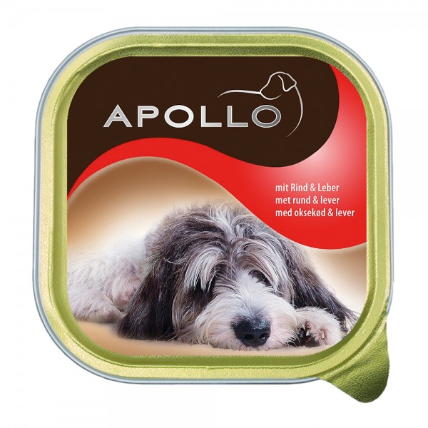 Apollo Pastete mit Rind & Leber