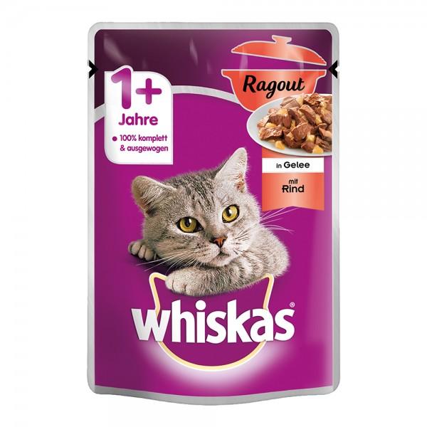 Whiskas 1+ Ragout mit Rind in Gelee