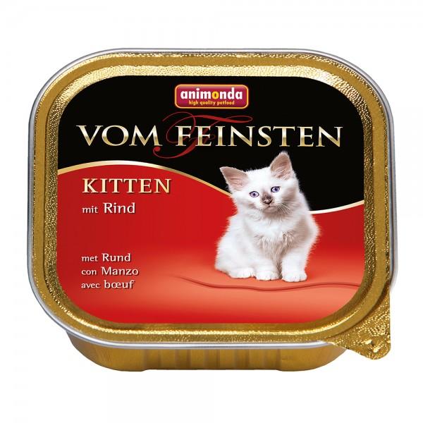 Animonda Vom Feinsten Kitten mit Rind