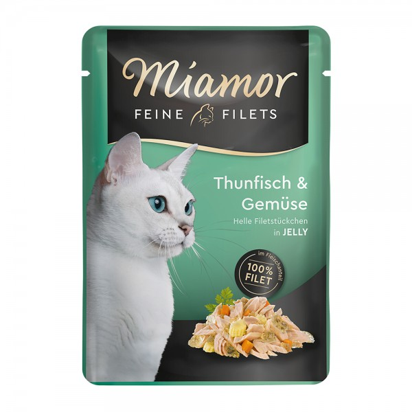 Miamor Feine Filets in Jelly Thunfisch & Gemüse