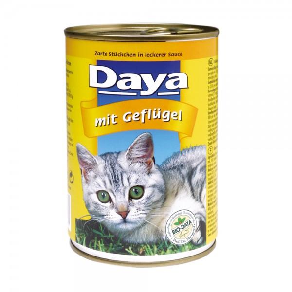 Daya Häppchen in Sauce mit Geflügel