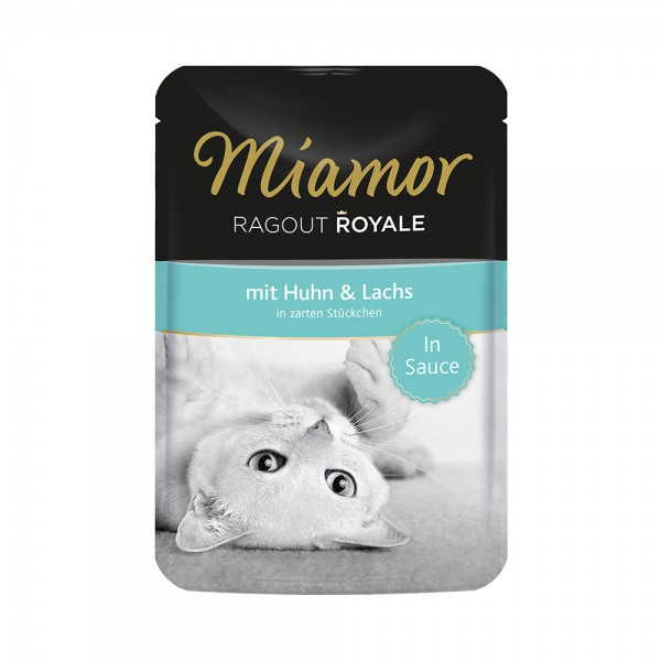 Miamor Ragout Royal Huhn&Lachs in Sauce