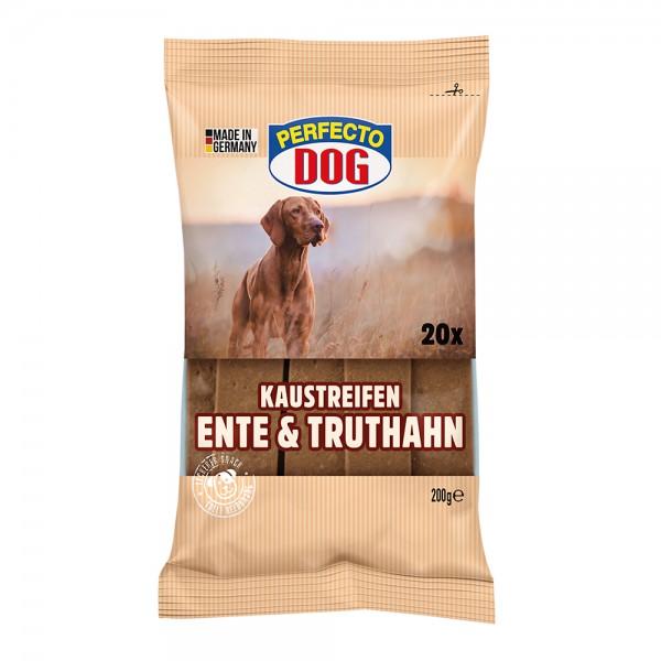 Perfecto Dog Ente & Truthahn 20er Streifen