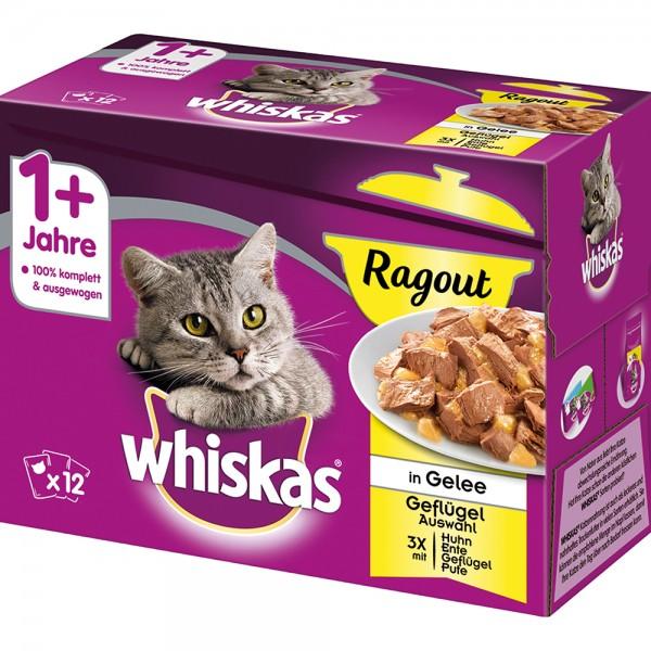 Whiskas MP 1+ Ragout Geflügelauswahl
