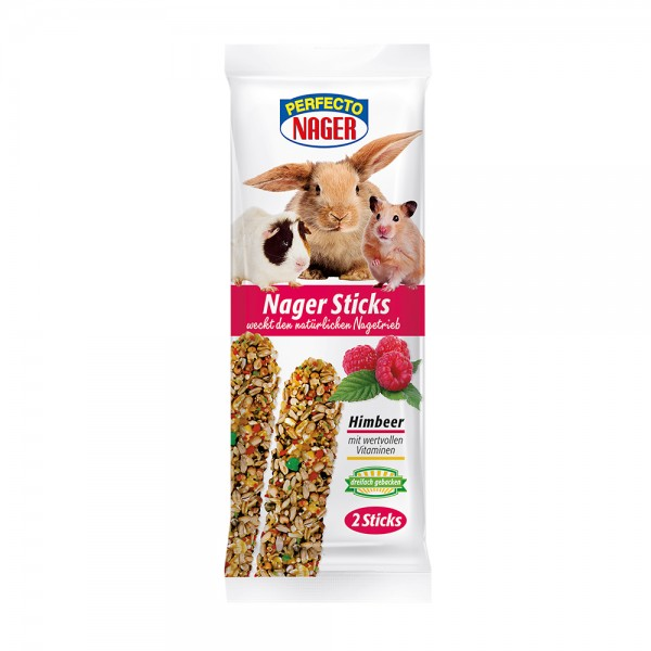 Perfecto Nager Sticks mit Himbeer