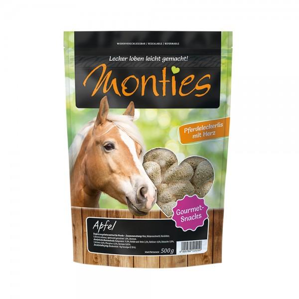 Allco Monties Apfel-Snacks