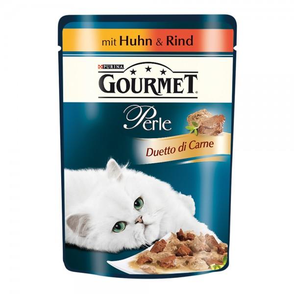 Gourmet Perle Duetto di Carne mit Huhn&Rind