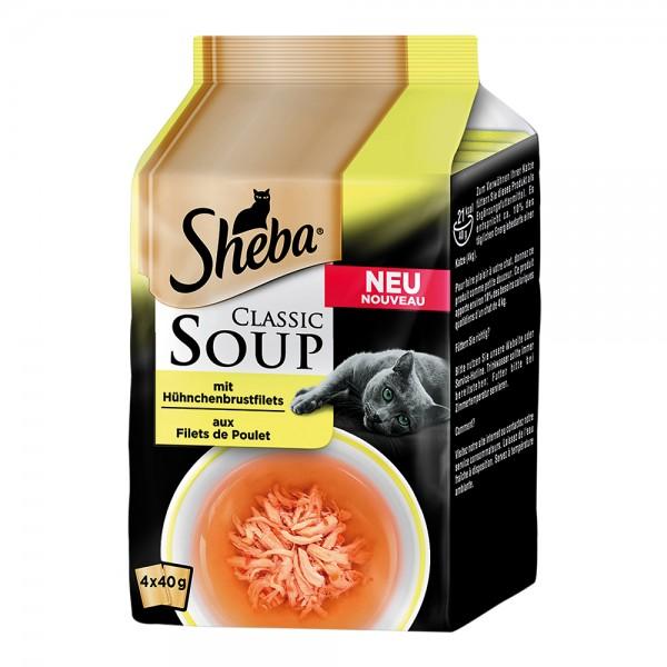 Sheba Classic Soup MP mit Hühnchenbrustfilets