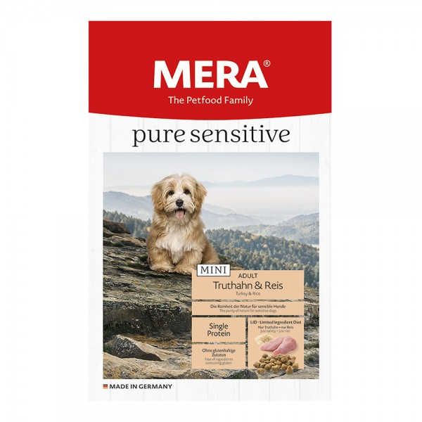 Mera Pure Sensitiv Mini Truthahn & Reis