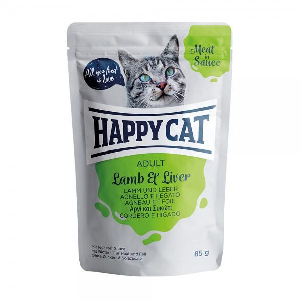 Happy Cat Pouch Adult Lamm & Leber