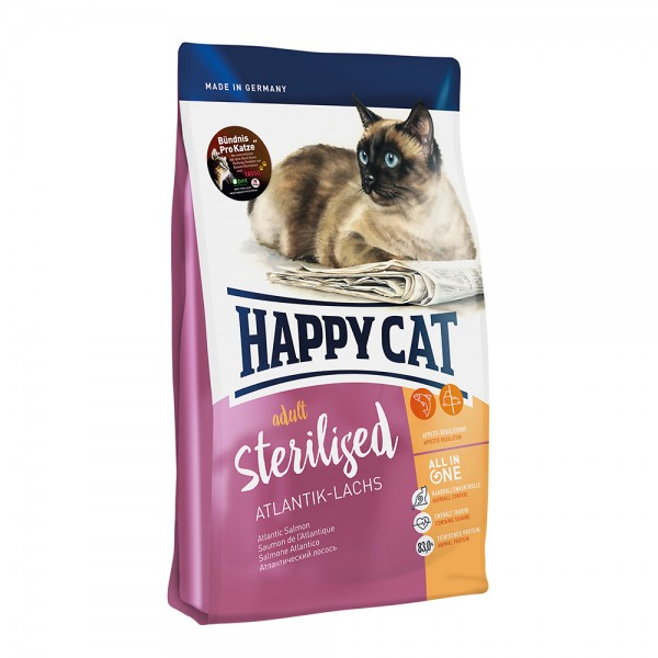 Happy Cat Supreme Sterilised Lachs