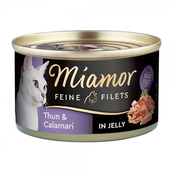 Miamor Feine Filets in Jelly Thunfisch & Calamari