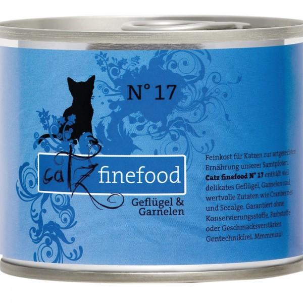 Catz Finefood No. 17 Geflügel & Garnelen