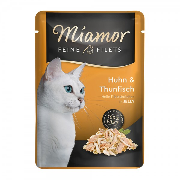 Miamor Feine Filets in Jelly Huhn & Thunfisch