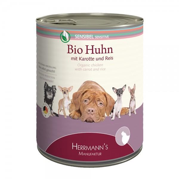 Herrmanns Sensible Bio-Huhn mit Karotte und Reis
