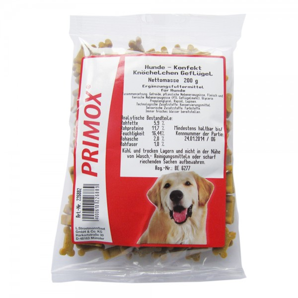 Primox Hundekonfekt Knöchel Geflügel