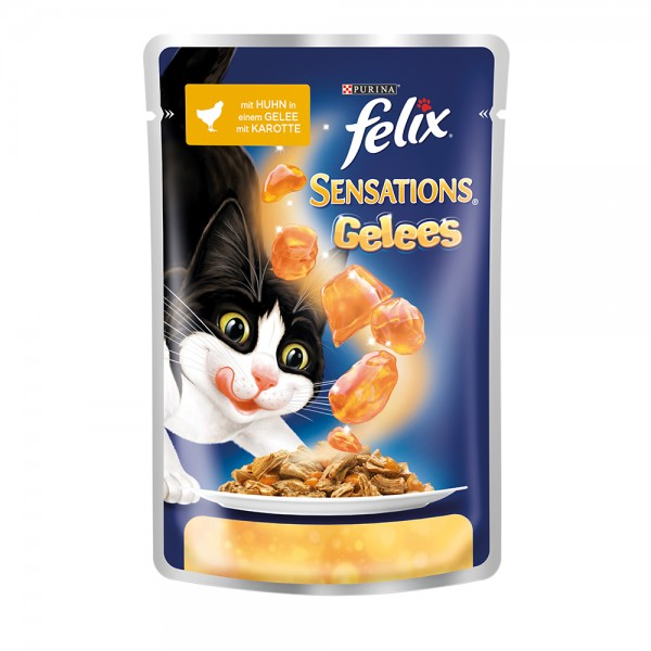 Felix Sensations Gelees Huhn mit Karotte
