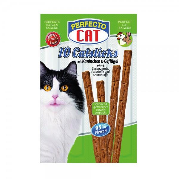 Perfecto Cat Catsticks mit Kaninchen & Geflügel