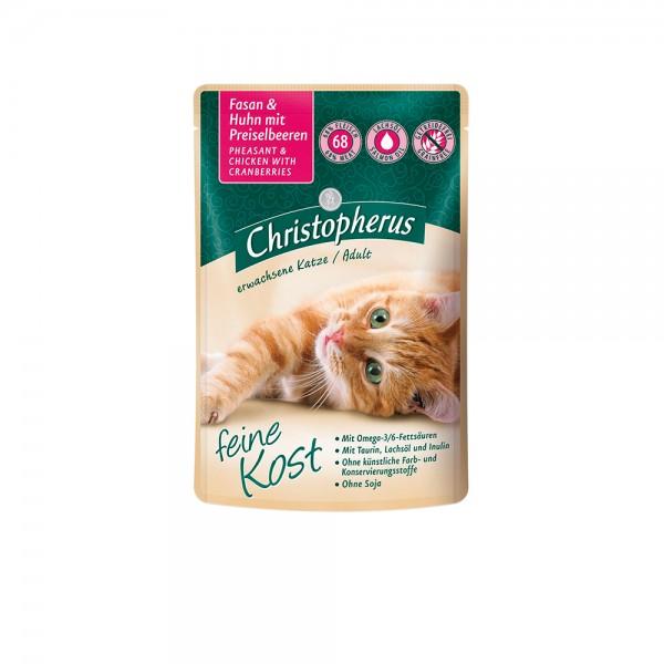 Allco Christopherus Katze Adult - Fasan und Huhn mit Preiselbeeren