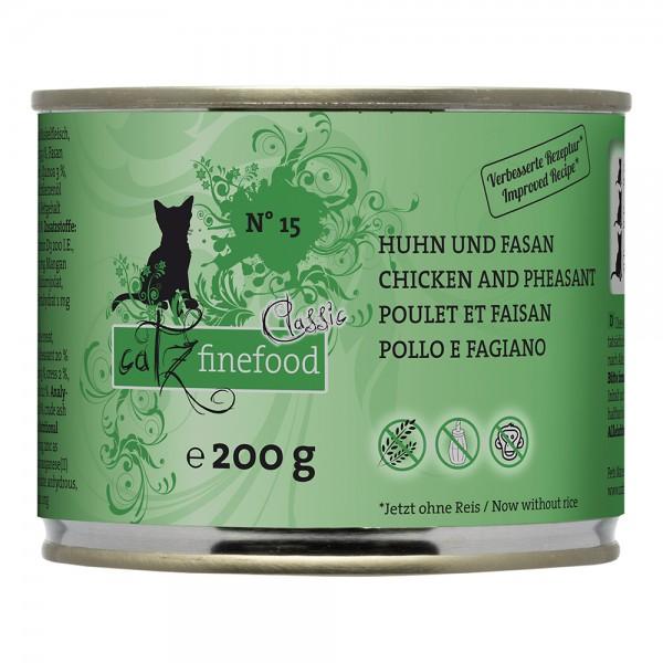 Catz Finefood No. 15 Huhn & Fasan