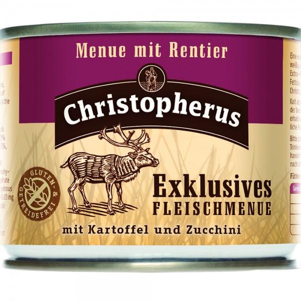 Allco Christopherus Exklusives Fleischmenü mit Rentier