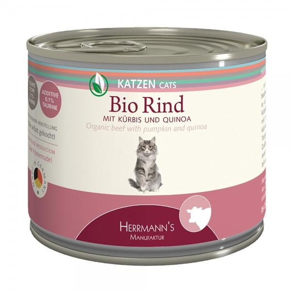 Herrmanns Bio-Rind mit Kürbis und Quinoa