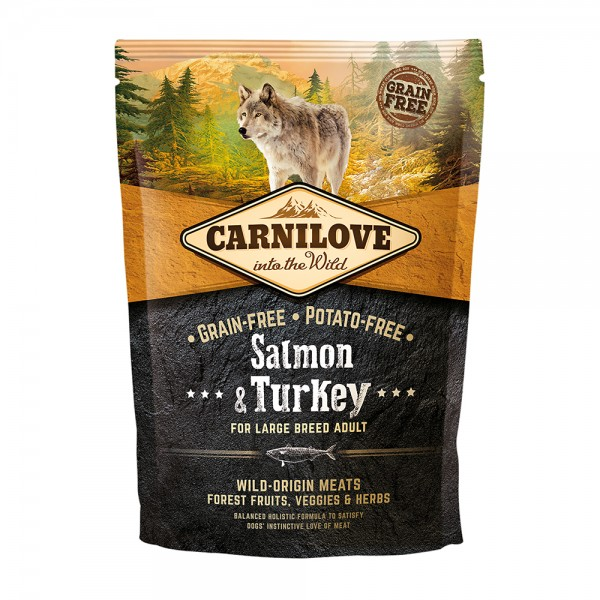 Carnilove Adult Large Breed Salmon & Turkey