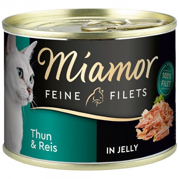 Miamor Feine Filets in Jelly Thunfisch & Reis