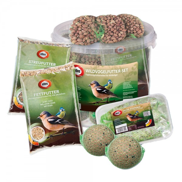 elles Wildvogel-Set 3 kg Eimer 1/2 Chep Display