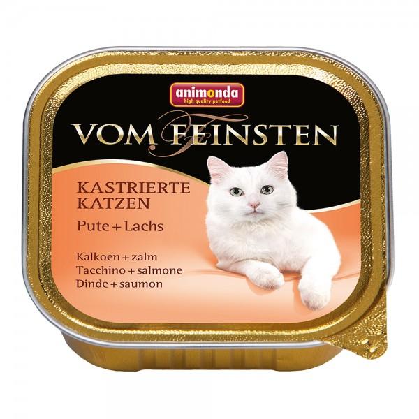 Animonda Vom Feinsten für kastrierte Katzen Pute + Lachs