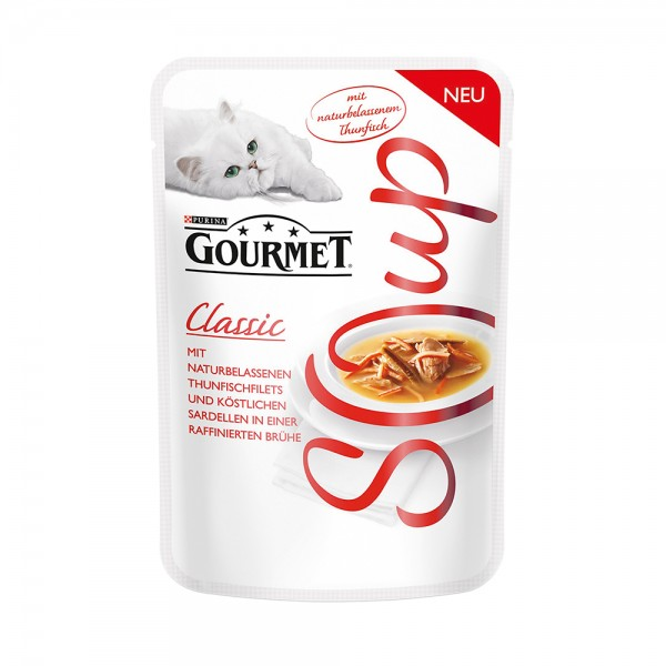 Gourmet Classic Soup mit Thunfisch & Sardelle