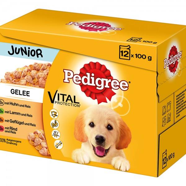Pedigree MP Junior in Gelee