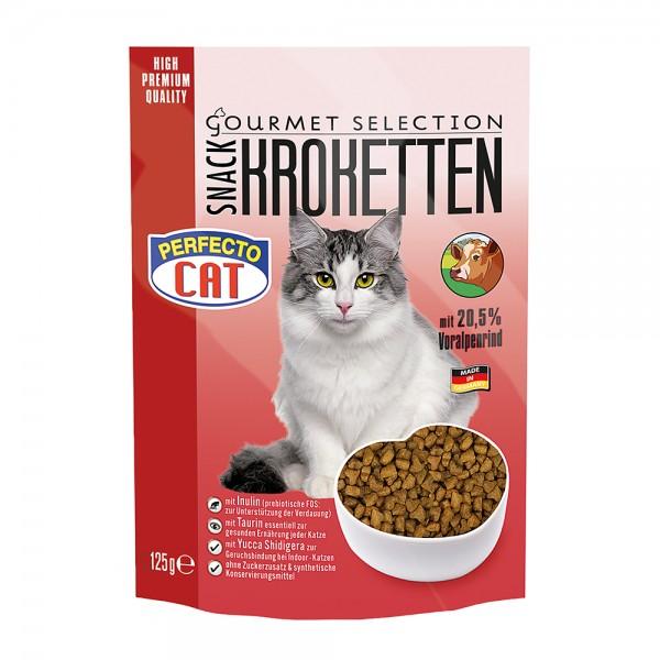 Perfecto Cat Kroketten-Snack mit Voralpenrind - getreidefrei
