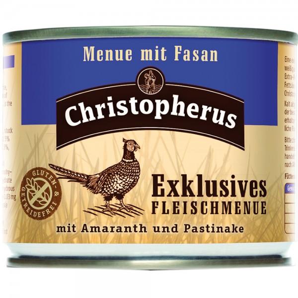 Allco Christopherus Exklusives Fleischmenü mit Fasan