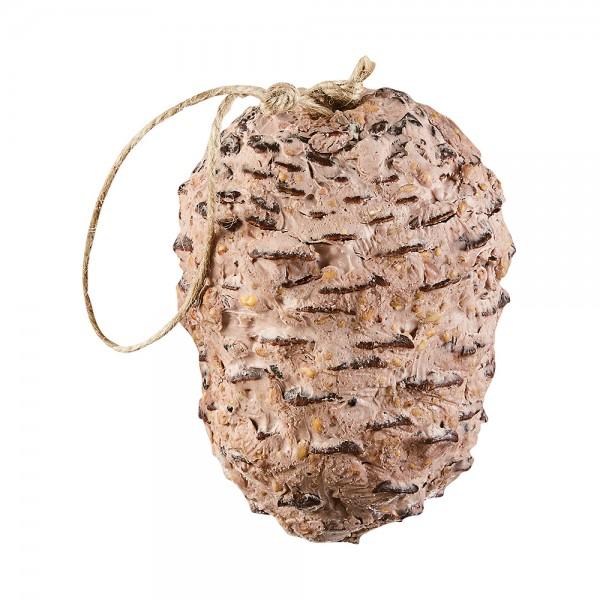 elles Riesen-Pinienzapfen mit Erdnussbutter