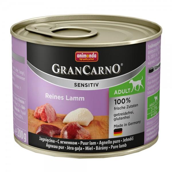 Animonda Gran Carno Sensitiv Lamm pur