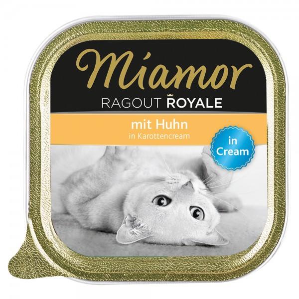Miamor Ragout Royale in Cream Huhn in Karottencream