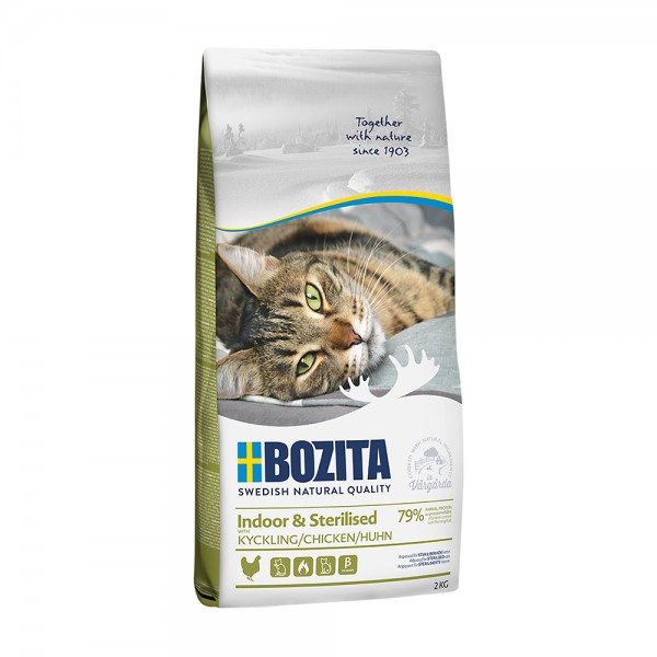 Bozita Feline Indoor & Sterilised Chicken