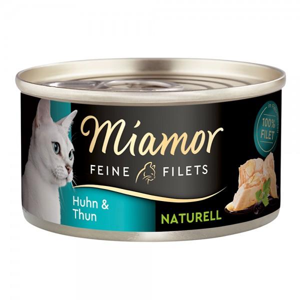 Miamor Feine Filets Natur Huhn & Thunfisch