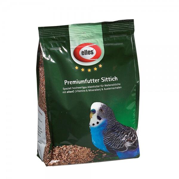 elles Premiumfutter Sittich 1 kg