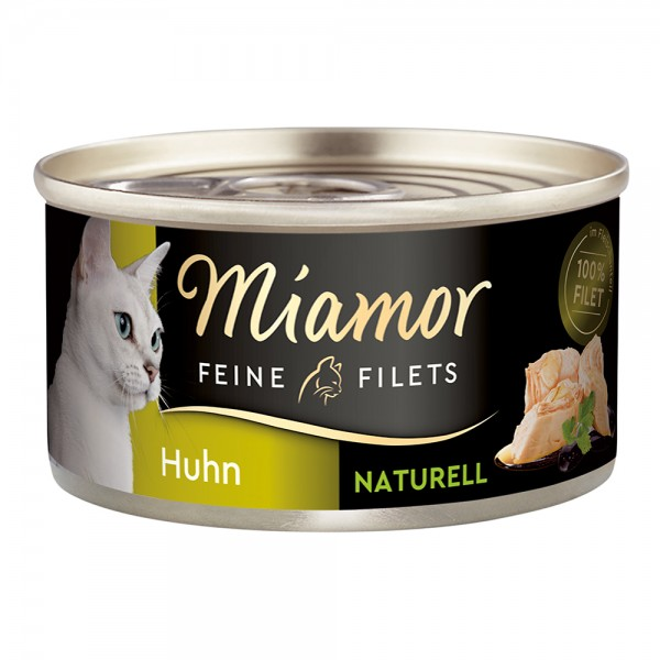Miamor Feine Filets naturelle in Fleischsaft Huhn